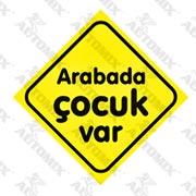 120.21.023637-AUTOMİX ARABADA ÇOCUK VAR  VANTUZLU