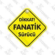 120.21.023694-AUTOMİX DİKKAT FANATİK SÜRÜCÜ VANTUZLU