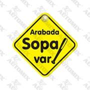 120.21.025133-AUTOMİX ARABADA SOPA VAR VANTUZLU
