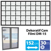 165.10.012549-VETTE DEKORATİF CAM FİLMİ DM-15