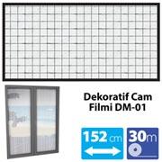165.10.012551-VETTE DEKORATİF CAM FİLMİ DM-01