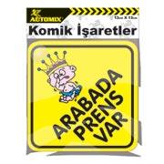 170.13.012079-AUTOMİX ARABADA PRENS VAR